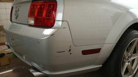 Mobile Paint Repair Before